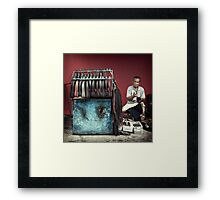 The Cobbler #1001 Framed Print