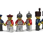 British Cavallery Minifigs by woody64
