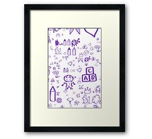 Play!  Framed Print