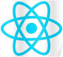 react js logo Poster