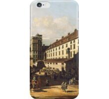 Canaletto Bernardo Bellotto - Vienna Viewed from the Belvedere Palace 1759 - 1760 iPhone Case/Skin