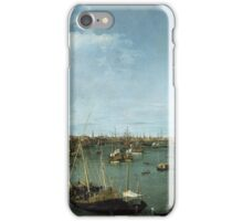 Canaletto Bernardo Bellotto - Bacino di San Marco, Venice about 1738 iPhone Case/Skin