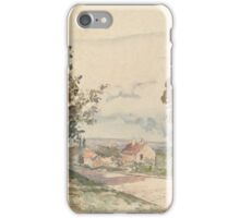 Camille Pissarro - The Road from Versailles to Louveciennes  1872 French Impressionism Landscape iPhone Case/Skin