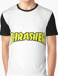 thrasher logo Graphic T-Shirt