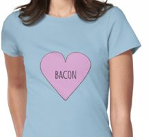 Bacon Love Womens Fitted T-Shirt