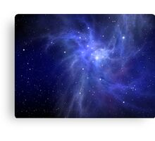 Lost In Space No1 Canvas Print