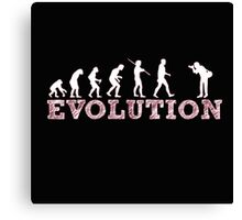 Evolution Photographer Canvas Print
