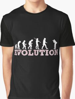 Evolution Photographer Graphic T-Shirt