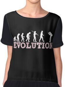 Evolution Photographer Chiffon Top