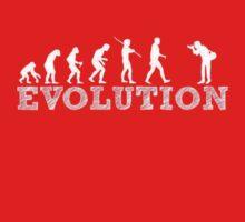 Evolution Photographer Baby Tee