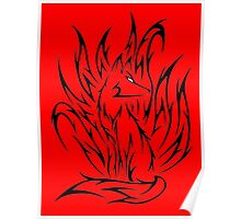 Demon fox Poster