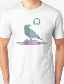 Pissed off crow! Unisex T-Shirt