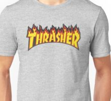 thrasher fire logo Unisex T-Shirt