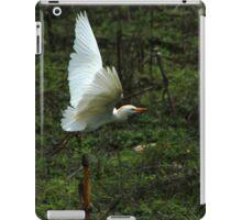 Cattle Egret Flying iPad Case/Skin
