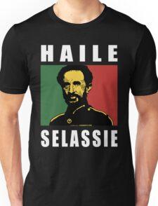Haile Selassie WHT Unisex T-Shirt