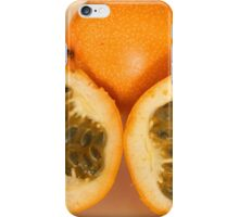 Sliced Passion Fruit iPhone Case/Skin