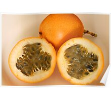 Sliced Passion Fruit Poster