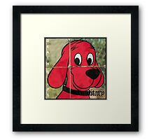 clifford exmilitary  Framed Print