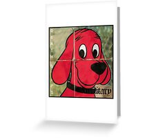 clifford exmilitary  Greeting Card