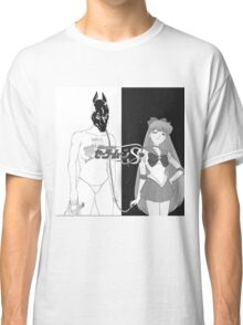 Death Grips with sailor venus as the girl instead of  Classic T-Shirt