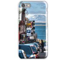 Streets of Reykjavik iPhone Case/Skin