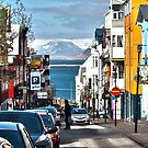 Streets of Reykjavik by Caleb Ward