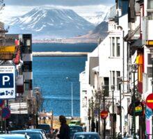 Streets of Reykjavik Sticker