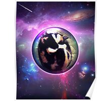 Deep Space Kitty Poster