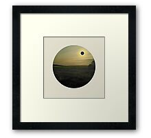 Eclipse Framed Print