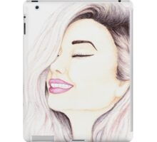 Watercolour girl iPad Case/Skin