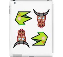 Lizardbreath and Willowdebeest - Both Characters iPad Case/Skin
