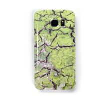 environmental concept, Water shortage and drought Dry cracked mud Samsung Galaxy Case/Skin