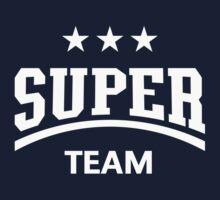Super Team (White) Kids Tee