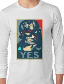 Captain Falcon (YES Meme) Long Sleeve T-Shirt