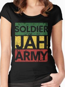 Soldier of JAH Army Women's Fitted Scoop T-Shirt