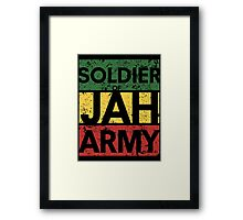 Soldier of JAH Army Framed Print