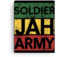 Soldier of JAH Army Canvas Print