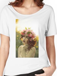 Sunlight and Roses Women's Relaxed Fit T-Shirt