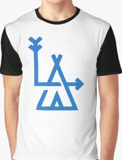 LA - Los Angeles - hipster design Graphic T-Shirt