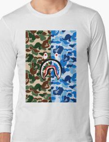 APE X SHARK Long Sleeve T-Shirt