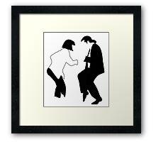 Uma & John Framed Print