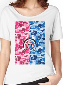 APE X SHARK Women's Relaxed Fit T-Shirt