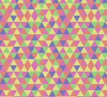 Triangular Pattern 2 Sticker