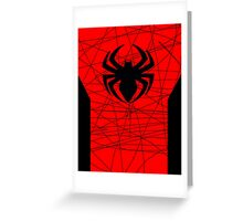 Spiderman Poster Greeting Card