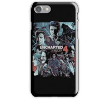Uncharted 4 [4K] iPhone Case/Skin