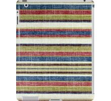 Tribal, Abstract Horizontal Stripes Patterns iPad Case/Skin