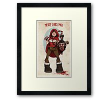 Krampus Slayer Framed Print