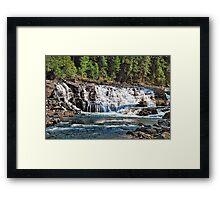 Cascading Beauty  Framed Print