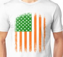 Irish American Flag Unisex T-Shirt