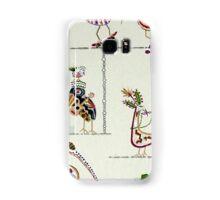 Tribal, Fun Bird Critters Samsung Galaxy Case/Skin
